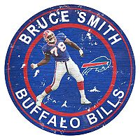Buffalo Bills Bruce Smith Wall Decor