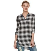 Women's Rock & Republic® Plaid Tunic