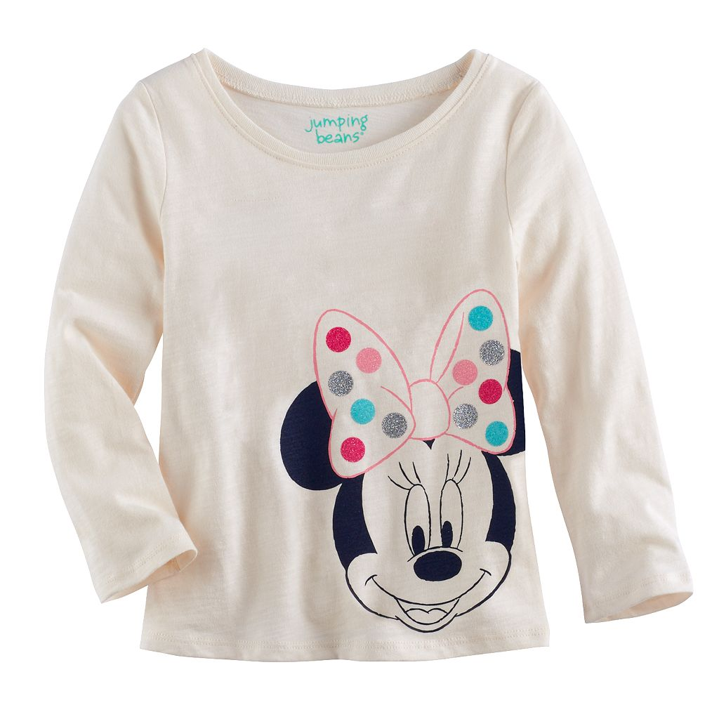 Disney's Minnie Mouse Toddler Girl Long-Sleeve Graphic Tee by Jumping Beans®