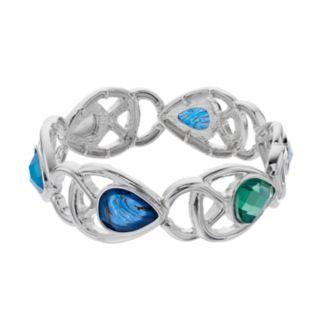 Napier Openwork Teardrop Stretch Bracelet