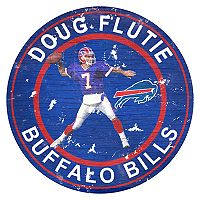 Buffalo Bills Doug Flutie Wall Decor
