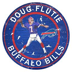 Buffalo Bills Doug Flutie Wall Decor