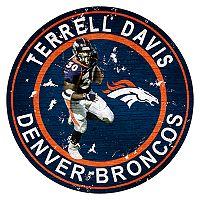 Denver Broncos Terrell Davis Wall Decor