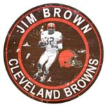 Cleveland Browns Jim Brown Wall Decor
