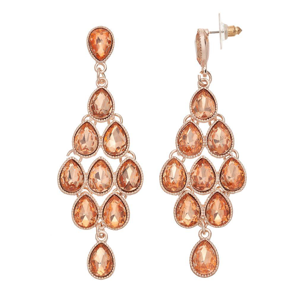 GS by gemma simone Teardrop Nickel Free Kite Earrings