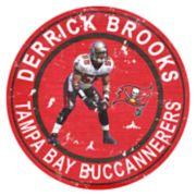 Tampa Bay Buccaneers Derrick Brooks Wall Decor