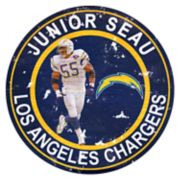 Los Angeles Chargers Junior Seau Wall Decor