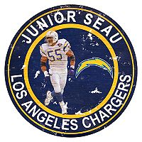 Los AngelesChargers Junior Seau Wall Decor