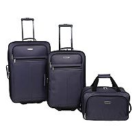 3-Piece Prodigy Galaxy Wheeled Luggage Set + $10 Kohls Cash