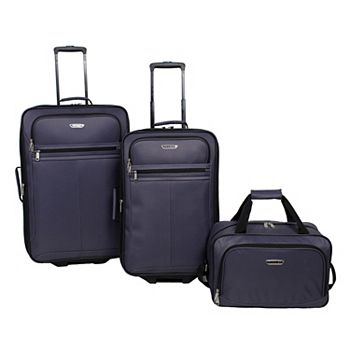 3-Pc Prodigy Galaxy Wheeled Luggage Set + $10 Kohls Cash