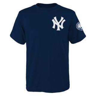 Boys 8-20 Majestic New York Yankees Derek Jeter Retirement Name and Number Tee