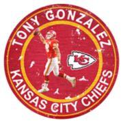 Kansas City Chiefs Tony Gonzalez Wall Decor