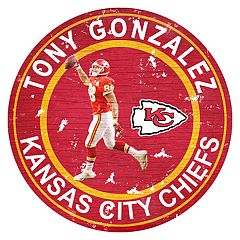 Kansas City Chiefs Tony Gonzalez Wall Decor