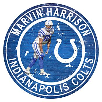 Indianapolis Colts Marvin Harrison Wall Decor