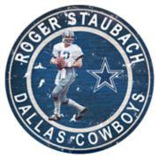 Dallas Cowboys Roger Staubach Wall Decor