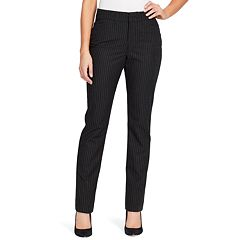 Petite Gloria Vanderbilt Haven Microtech Straight-Leg Pants