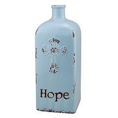 Stonebriar Collection 'Hope' Ceramic Vase Table Decor