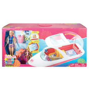 Barbie® Dolphin Magic Ocean View Boat Set
