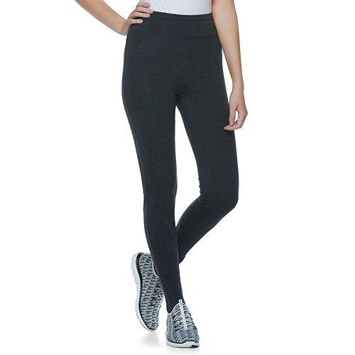 Juniors' SO® Black Stirrup Leggings
