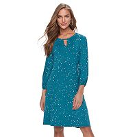 Women's Apt. 9® Keyhole A-Line Dress