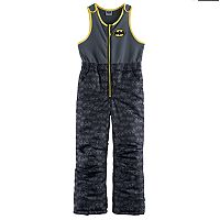 Boys 4-7 DC Comics Batman Quilted Bib Overall Snow Pants