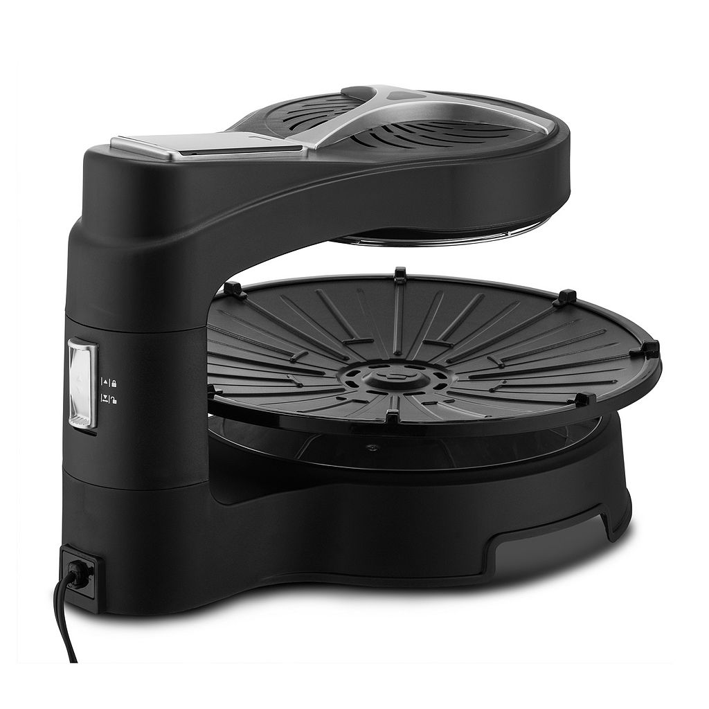 Gourmia Electric Halogen Powered Grill with LCD Display