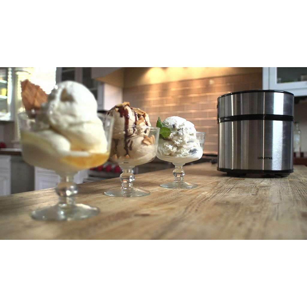 Gourmia Automatic Ice Cream, Frozen Yogurt & Sorbet Maker