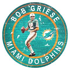 Miami Dolphins Bob Griese Wall Decor