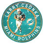 Miami Dolphins Larry Csonka Wall Decor