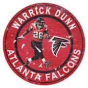 Atlanta Falcons Warrick Dunn Wall Decor