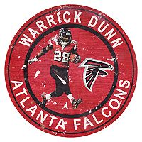 Atlanta Falcons Warrick Dunn Wall Decor