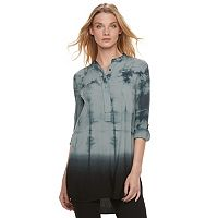 Women's Rock & Republic® Tie-Dye High-Low Tunic