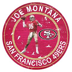 San Francisco 49ers Joe Montana Wall Decor