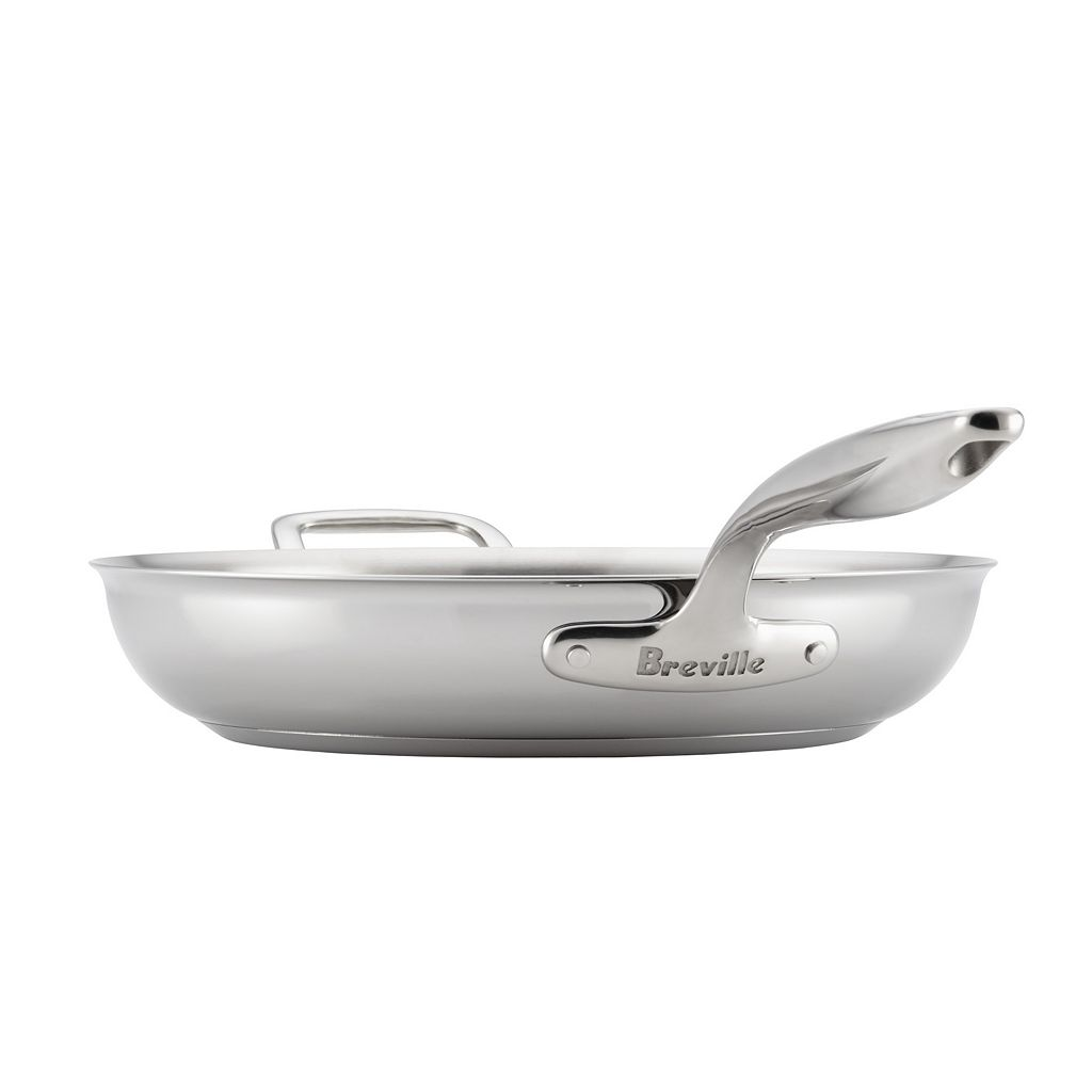 Breville Thermal Pro Clad 12.5-in. Stainless Steel Frypan