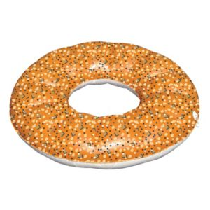 International Leisure Giant Everything Bagel Inflatable Float