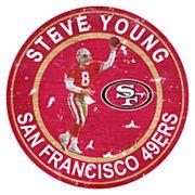 San Francisco 49ers Steve Young Wall Decor