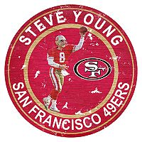 San Francisco 49ers Steve Young Wall Decor