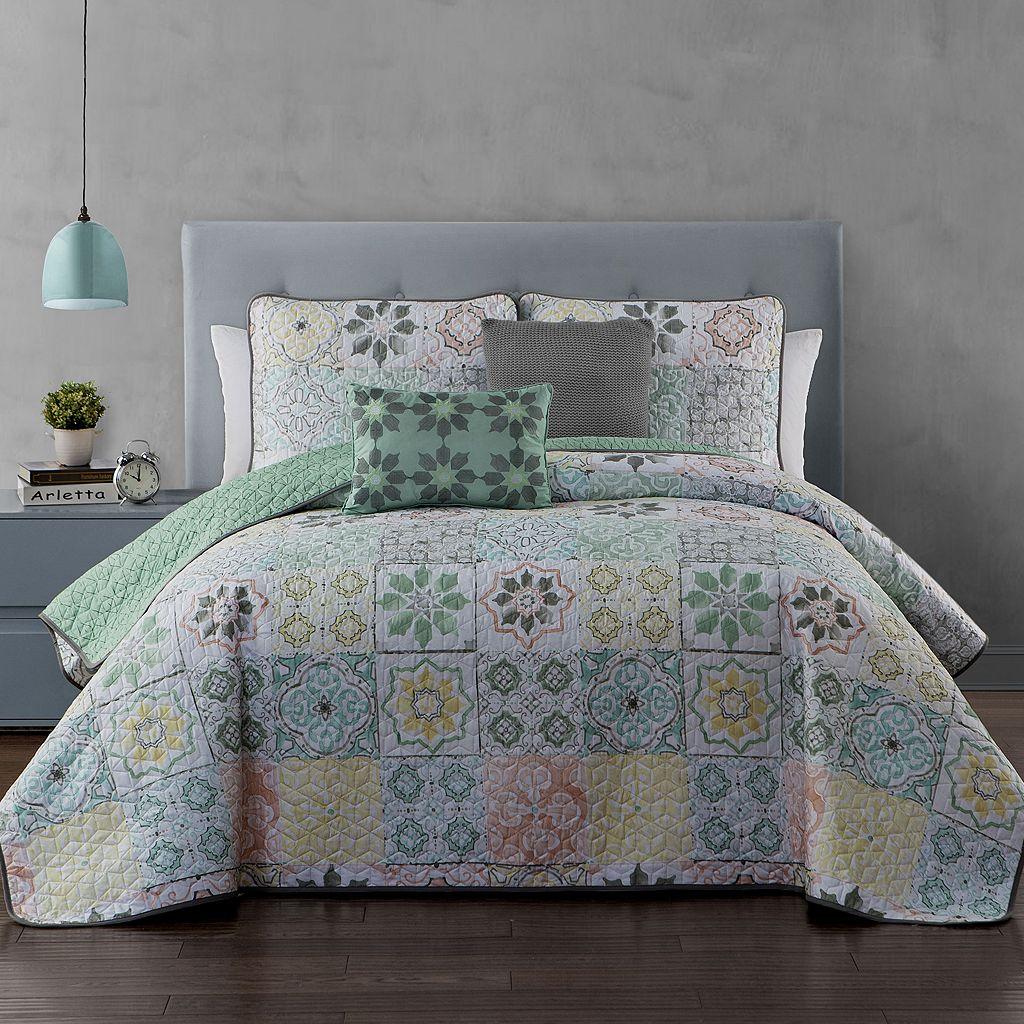 Avondale Manor 5-piece Cruz Quilt Set