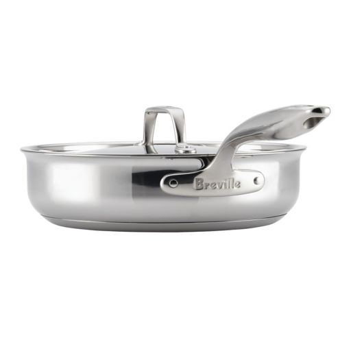 Breville Thermal Pro Clad 3.5-qt. Stainless Steel Covered Saute Pan