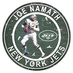 New York Jets Joe Namath Wall Decor
