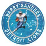 Detroit Lions Barry Sanders Wall Decor