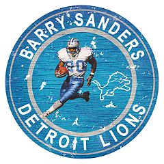 Detroit Lions Barry Sanders Wall Decor