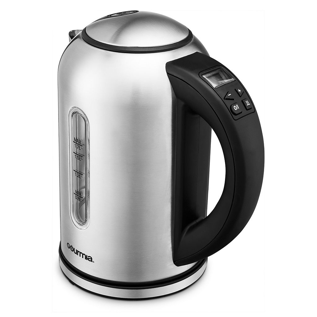 Gourmia Electric Kettle with LED Digital Display