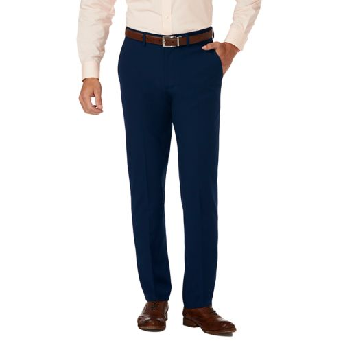 Men's J.M. Haggar Premium Slim Fit 4 Way Stretch Flat Front Dress Pants by Kohl's