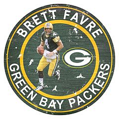 Green Bay Packers Brett Favre Wall Decor
