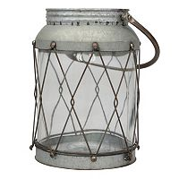 Stonebriar Collection Large Rustic Lantern Table Decor
