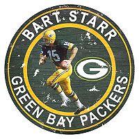 Green Bay Packers Bart Starr Wall Decor