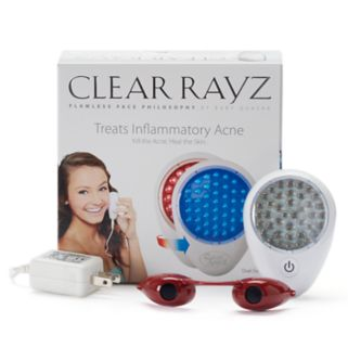 Quasar Clear Rayz Red & Blue Light Acne Treatment Device