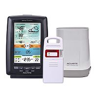 AcuRite Color Weather Station with Rain Gauge & Lightning Detector