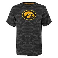 Boys 8-20 Iowa Hawkeyes Vector Dri-Tek Tee